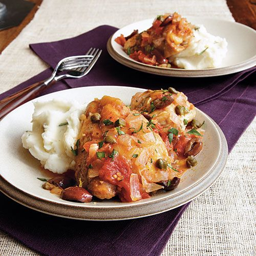 in sun-drenched Mediterranean cuisine, these braised chicken thighs ...