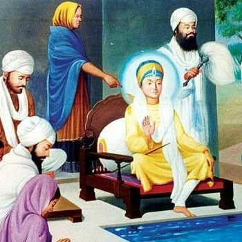 When Guru Har Rai was asked who among his two sons Ram Rai and Har Krishan would be the next guru. Guru Ji asked the person to go with a needle and insert the needle in the leg of the bed where these two sat and recited baani. The person did the same and he was surprised Guru Harkrishan Ji to see that the needle went inside the bed when Guru Har Krishan Sahib was doing meditation but not when Raam Rai was doing it. The person obviously perplexed went to Guru Har Rai to ask the meaning. Guru…