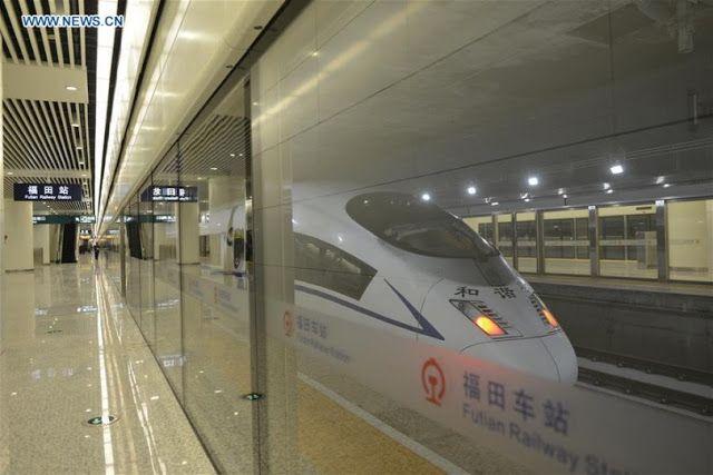 Транспортный блог Saroavto: Шэньчжэнь: Крупнейшая подземная железнодорожная ст...