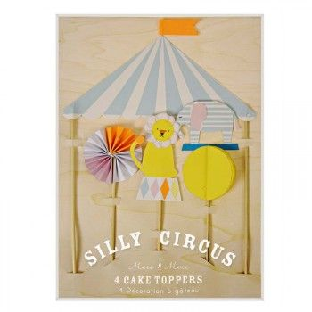 Silly Circus Cake Toppers : The Party Cupboard : Online Party Supplies Store Australia | The Party Cupboard