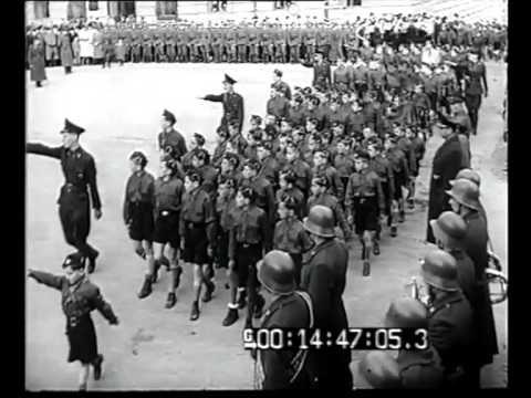 WWII. - 1942. - Croazia/ NDH - Zagabria - La celebrazione del primo anniversario dell'indipendenza croata presenzi...