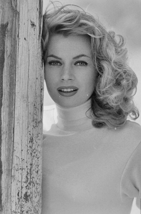 Anita Ekberg, was a Swedish actress, model, and sex symbol. She is best known for her role as Sylvia in the Federico Fellini film La Dolce Vita (The Sweet Life, 1960), which features a scene of her cavorting in Rome's Trevi Fountain alongside Marcello Mastroianni.