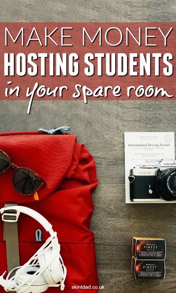 Hosting foreign students is a great tax free way to up your income.
