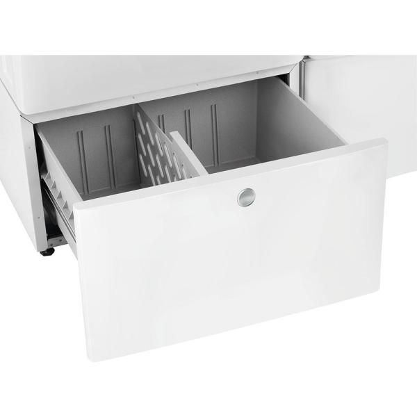 Electrolux 15 In Laundry Pedestal With Storage Drawer In White