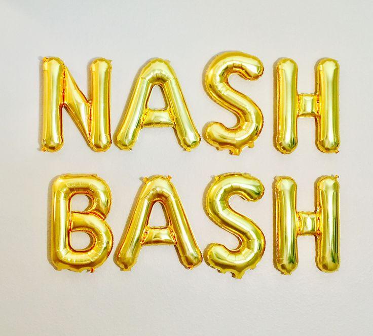 Nash Bash Balloons, Nashville theme, Nashville Bachelorette, Nashville, Last bash in Nash, Bach Bash, Nashville Bach Party,Nashville Bash by girlygifts07 on Etsy https://www.etsy.com/listing/506335640/nash-bash-balloons-nashville-theme