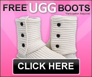 YOUR PAIR OF UGG BOOTS FOR FREE