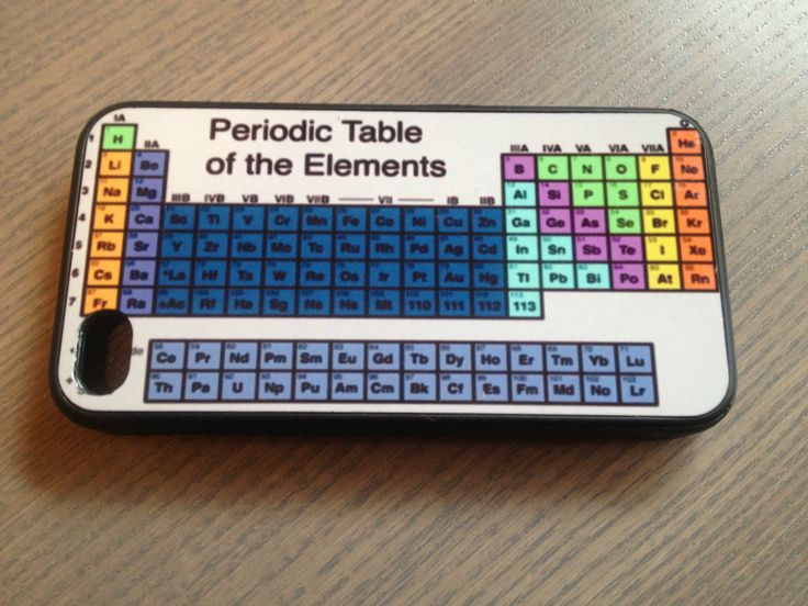 Periodic Tabel of Elements iPhone case. This is too funny!!!! @Dana Judge
