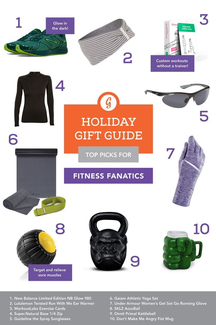 21 Awesome Gifts for Every Fitness Lover You Know