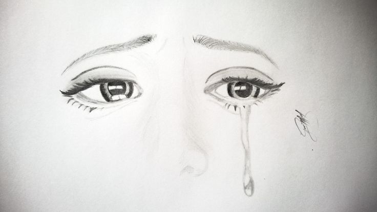 Sad Eyes Drawing | EYES | Pinterest
