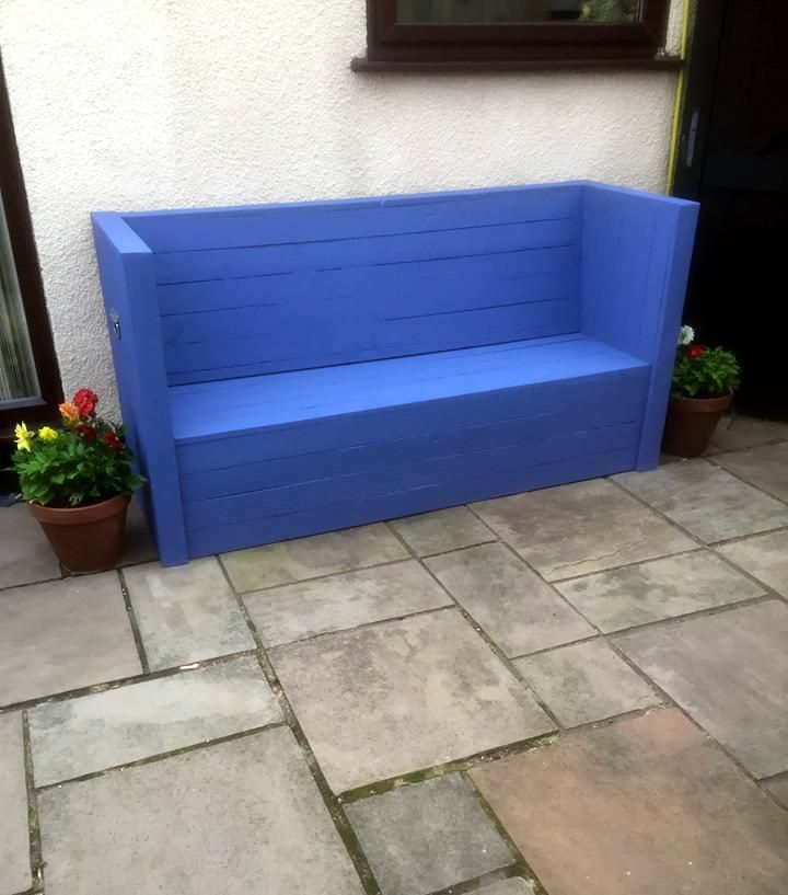 Wood Pallet Outdoor Chair and Sofa | 101 Pallets