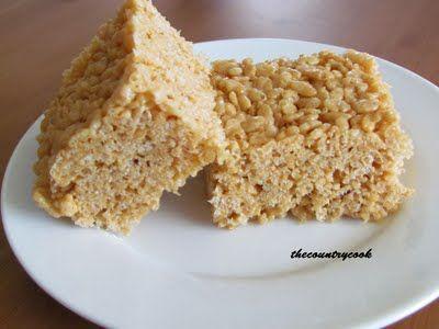 Mom's Peanut Butter Rice Krispies Treats