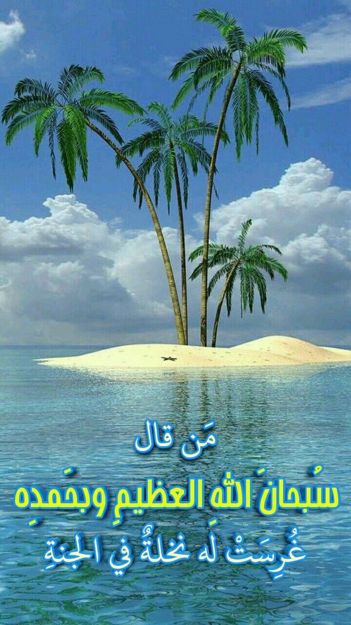 Pin By Quotes On صور إسلامية بطاقات إسلامية Islamic Quotes Beach Outdoor Water