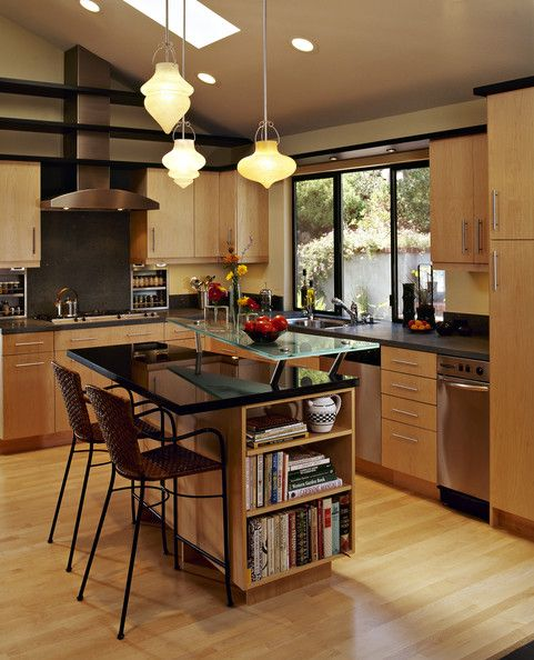 Yellow Kitchen Oak Cabinets: Kitchen Extension Photos, Color Kitchen Cabinets