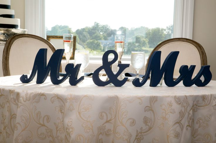 Mr And Mrs Large Wooden Letters: 1000+ Ideas About Sweetheart Table Decor On Pinterest