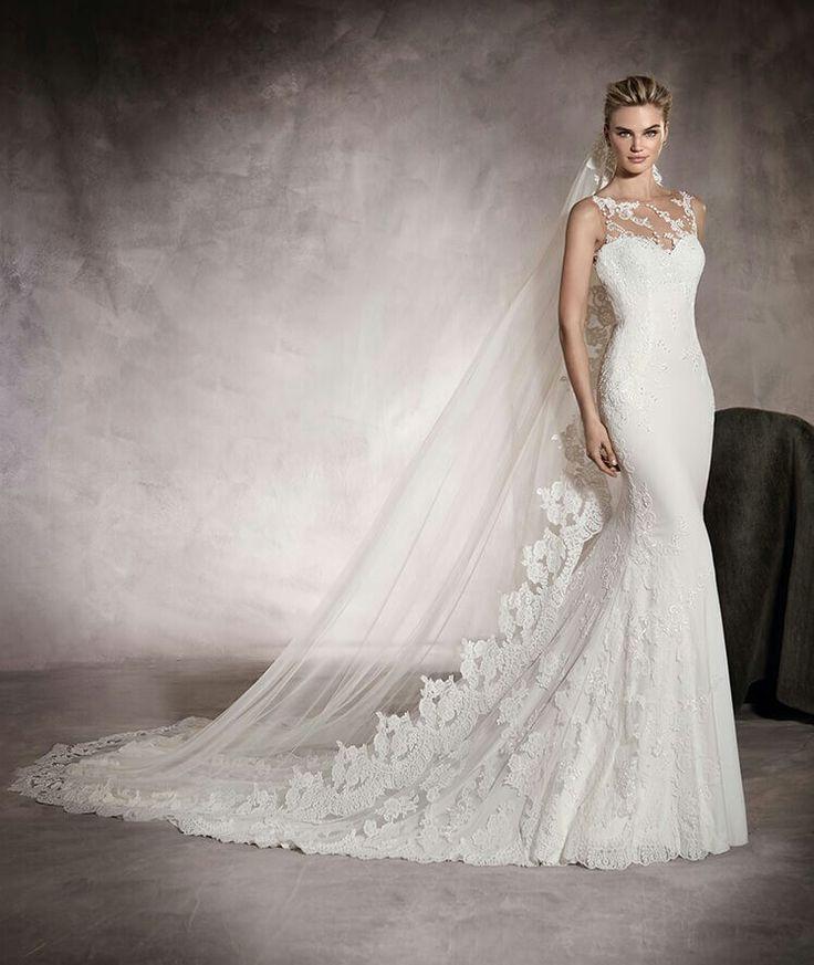 90 best Brautkleider images on Pinterest | Wedding frocks ...