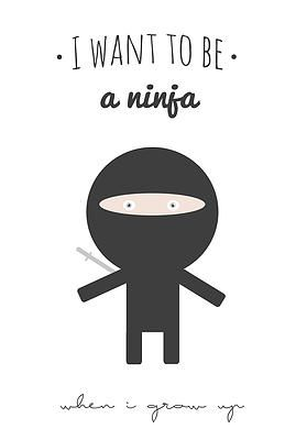 Wiho Design - I want to be a Ninja