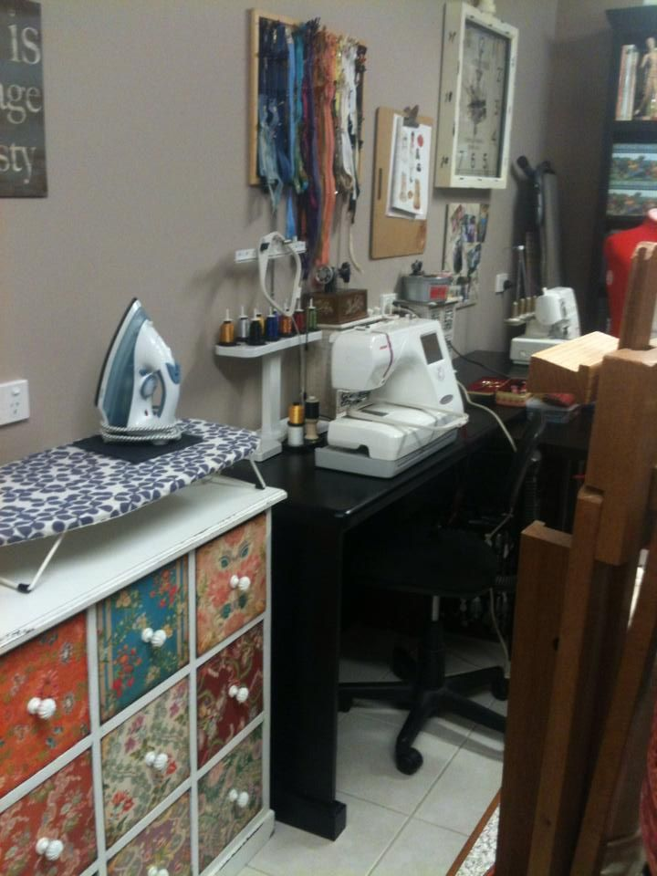 Aunty Donna's Sewing Room.