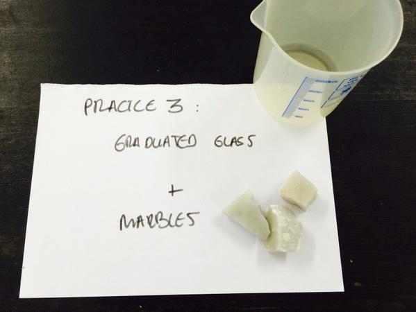 @1ESOAuseva Todo preparado en el laboratorio: masa, volumen y densidad #science #AICLE #compostelaenruta