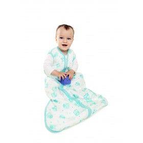 """""""MUSSELIN MINT EULE"""" - Unser Musselin Sommerschlafsack für Jungs und Mädchen ist aus weißer 100%iger Baumwolle und mit Eulen bedruckt und farblich passendem Saum eingefasst. Die Schlafsäcke sind vorgewaschen, wodurch sie besonders weich und einlaufbeständig sind. Schlummersack Musselin Babyschlafsäcke gibt es in 4 Größen auf: www.schlummersack.de"""