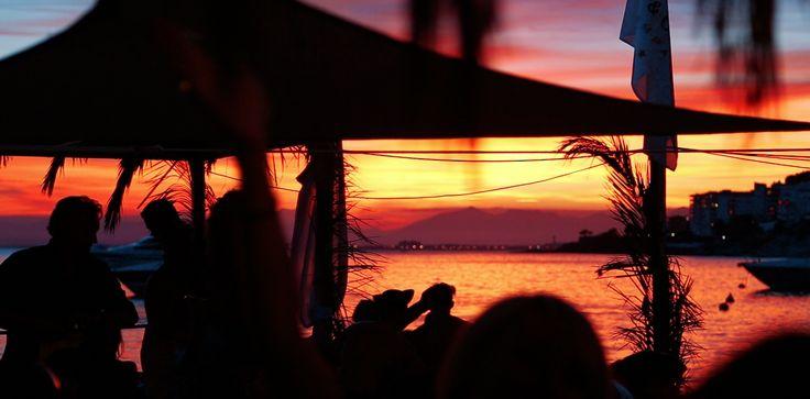 Sunset from El Pirata