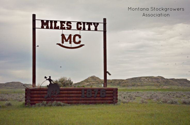 Welcome to Miles City, #Montana.