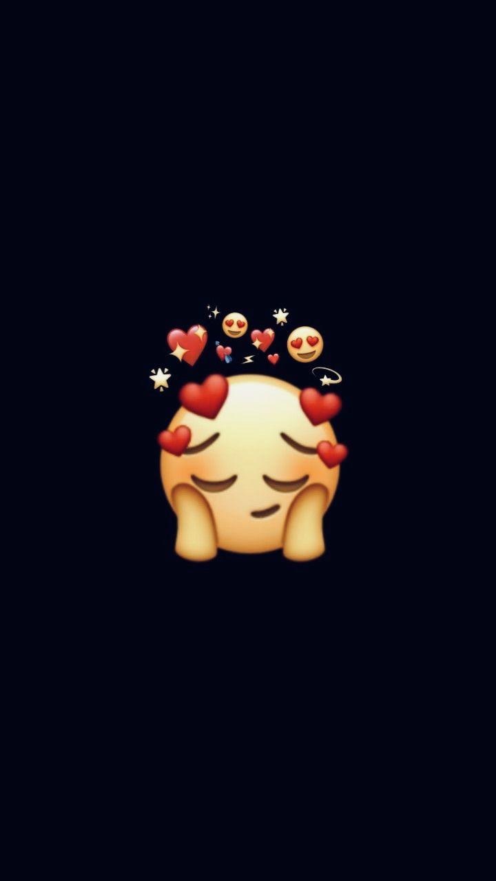 Cute Cute Emoji Cartoon Wallpaper Iphone