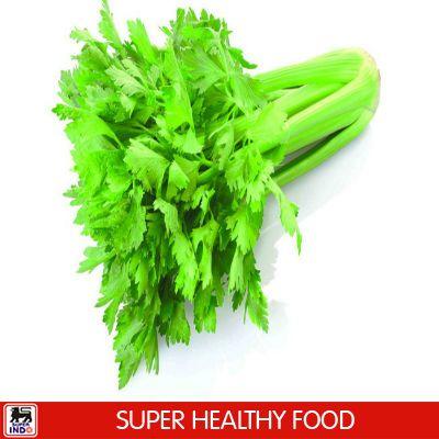 Seledri sangat kaya akan antioksidan. Rajin mengnsumsi seledri dapat meningkatkan kekebalan tubuh.