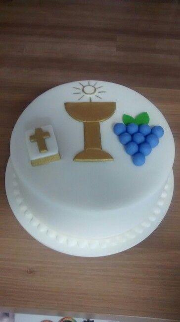 Bolo Primeira Comunhao facebook.com/cakes.bolosdecorados