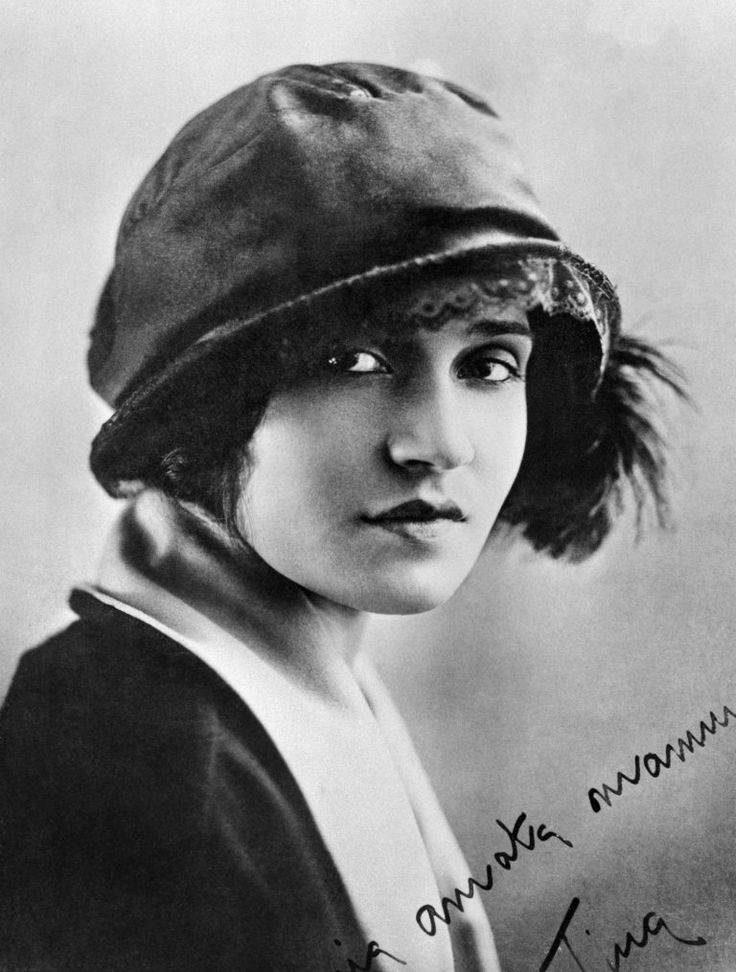 Tina Modotti (Udine, 1896 - Mexico City, 1942) was an Italian photographer, model, actress, and revolutionary political activist for the Komintern.