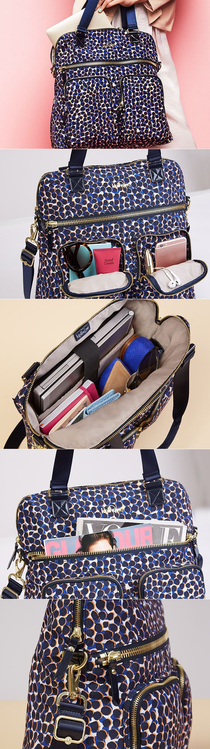 Our most functional handbag ever! Meet the New Camryn