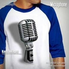 Kaos MICROPHONE, Kaos 3D, Kaos ALAT MUSIK, music, musician, vocalist, clothing, https://instagram.com/kaos3dbagus, WA : 08222 128 3456, LINE : @KAOS3DBAGUS