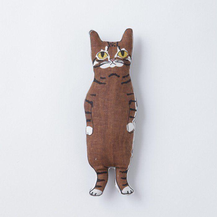 <受注制作>茶トラ猫ちゃん(ブラウン) ぬいぐるみ