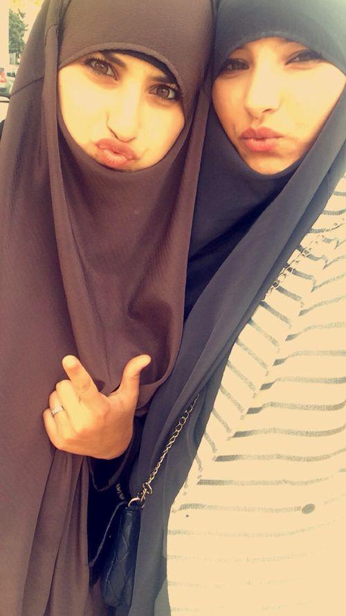 Image de hijab, muslim, and smile