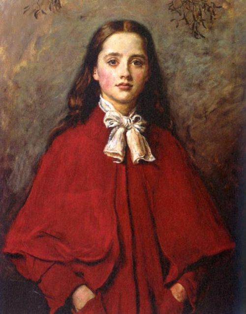 Bright Eyes - John Everett Millais