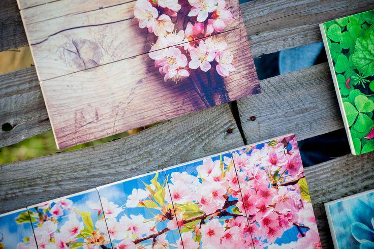 Detailfoto Timberprints - Foto op hout www.timberprint.nl #fotoophout #whitewash #collage
