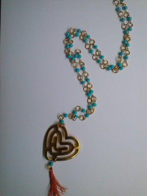 #Collar, #necklace, #corazón,#heart, #jewelry, #bisutería,#Bogotá