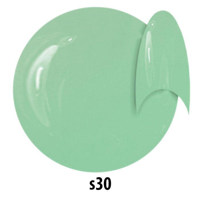 s30. NTN Lakier żelowy UV - miętowy - 6ml