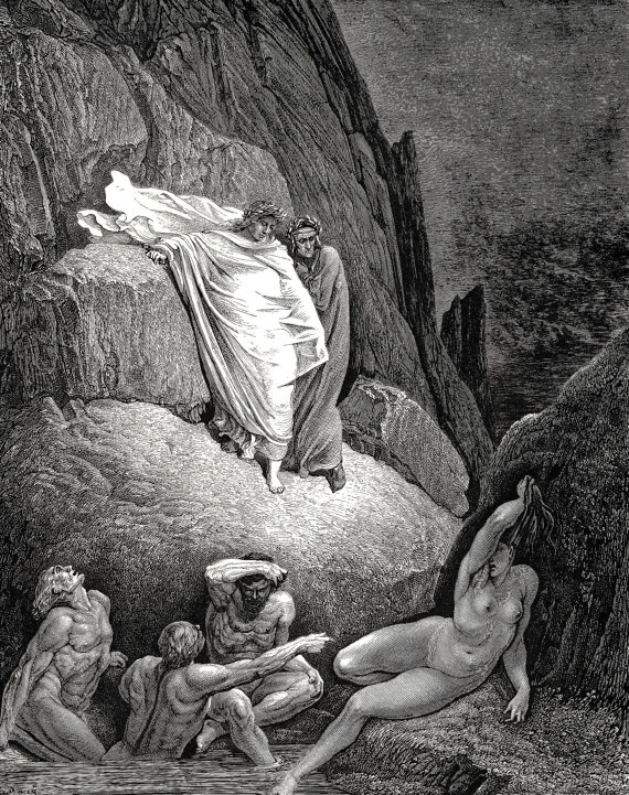 giclee prints gustave dore dante 39 s inferno it 39 s thais the. Black Bedroom Furniture Sets. Home Design Ideas