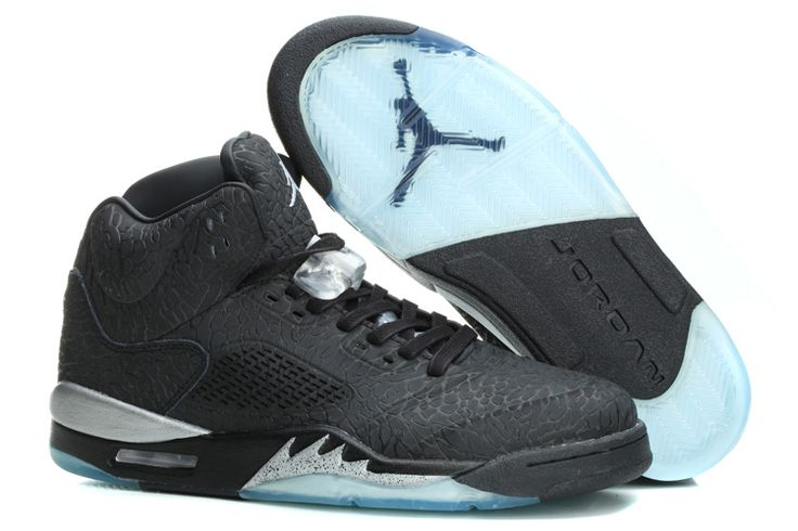 tom ford blanche - Air Jordan 5 3Lab5 Black/Metallic Silver For Sale Cheap Air Jordan ...