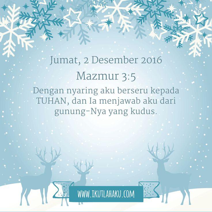 Renungan Hari Jumat 2 Desember 2016