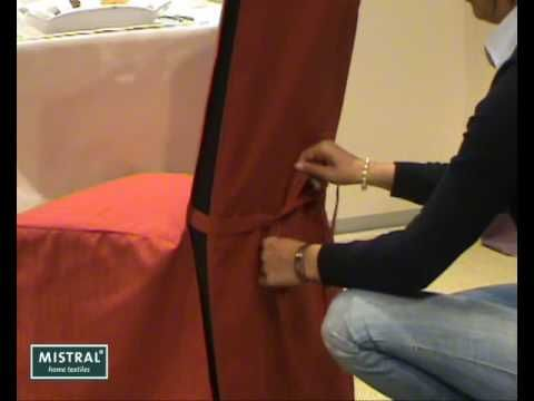 How To Put The Mistral Lyon Chair Cover On Your