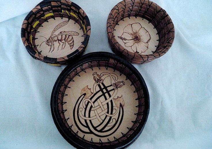 Pine Needle Coiling by Sue Bonifacio