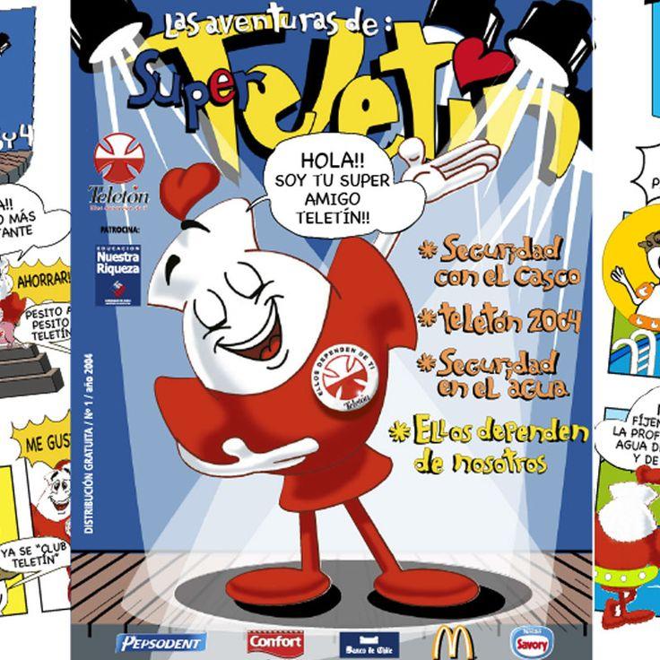 Diseño de portada ilustrada para Revista Teletín, campaña TELETON
