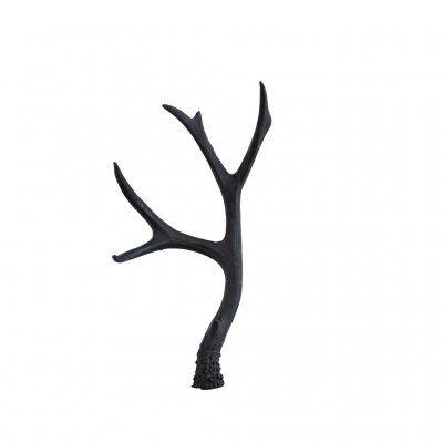 Hjorthorn, Dekoration, svart, Madam Stoltz