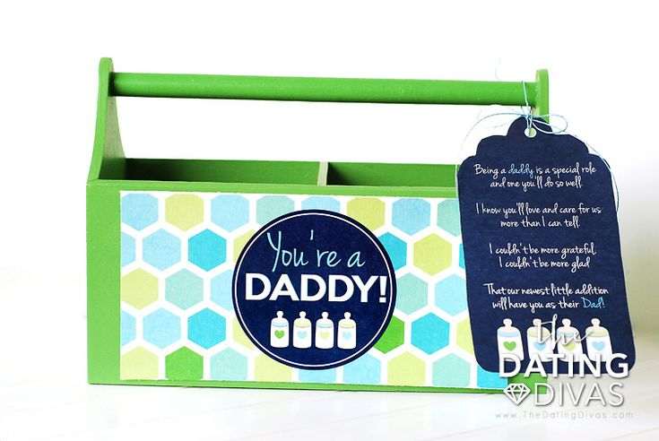 New Daddy Gift Basket
