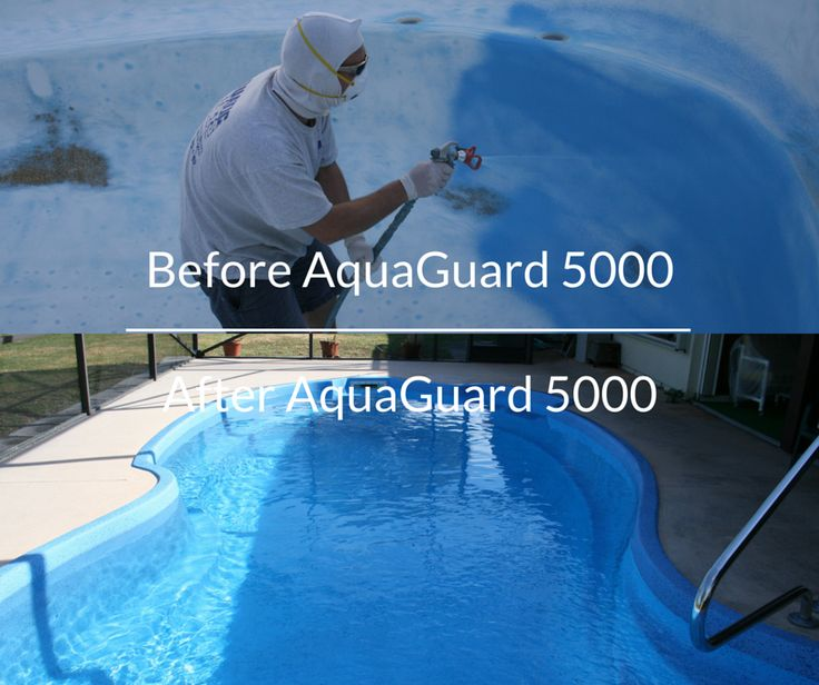 61 best pool repair before after images on pinterest fiberglass repair resurface and refinish pool with aquaguard 5000 diy the home owner or solutioingenieria Images