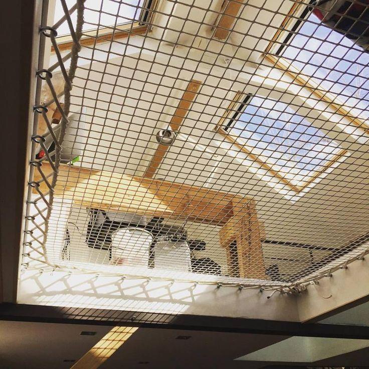 les 57 meilleures images du tableau filet pour habitation sur pinterest rampe d 39 escalier. Black Bedroom Furniture Sets. Home Design Ideas