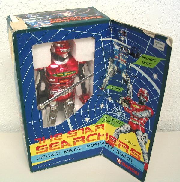 Star Searchers Namrood Robot