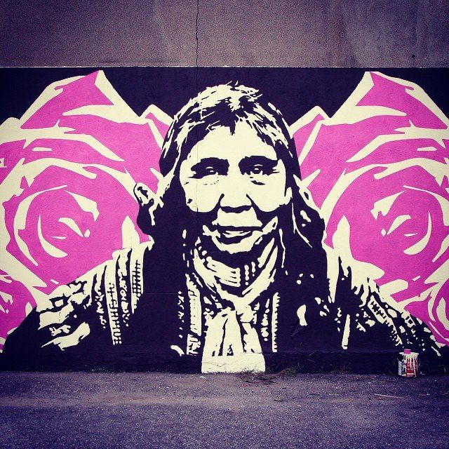 Murals — Jessica Sabogal Justice for All Indigenous People