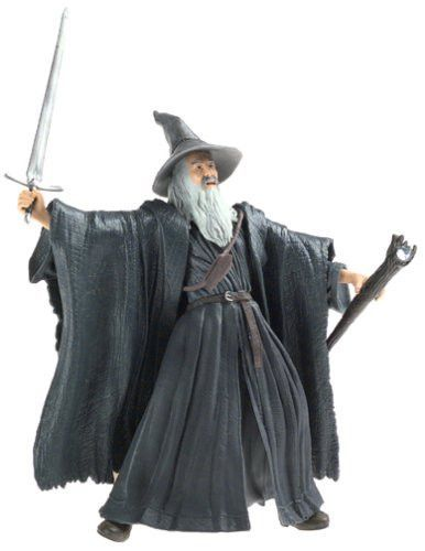 The Lord of the Rings Fellowship of the Rings Gandalf the Grey Action Figure By Toy Biz, Antique Alchemy